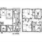 東区牛田東3丁目新築 建物面積103.50㎡。4LDK+WICの間取りです。