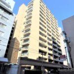 常磐CO-OPマンション 外観。15階建ての3階部分です。