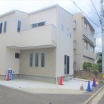 東区矢賀3丁目新築 外観。令和2年2月末完成済です。