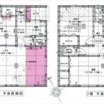 東区上温品3丁目新築 建物面積101.85㎡。4LDKの間取りです。(間取)