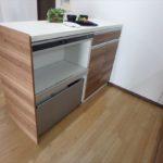 みゆきパークマンションB棟 キッチンカウンターはカップボードも兼ね備えています(*^_^*)