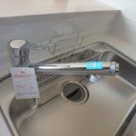 呉市焼山宮ヶ迫1丁目新築 浄水器一体型水栓
