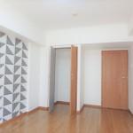 チサンマンション広島 洋室7帖にクローゼットも付いています。