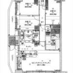 ヴェルディ大原駅前フェリス 専有面積82.80㎡。4LDKの間取です。(間取)