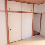常磐CO-OPマンション 和室収納は天袋も付いています♪