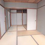 オアシスマンションプレジデント光ヶ丘 和室6帖と和室4.5帖も続き間で開放感があります!
