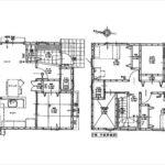 東区牛田東3丁目新築 建物面積104.75㎡。4LDK+WICの間取りです。