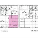 東区上温品3丁目新築 建物面積104.48㎡。3LDK+タタミコーナーの間取りです。(間取)