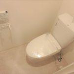 パラッシオ東雲 新設:ウォシュレット付きトイレ