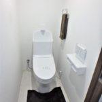 みゆきパークマンションB棟 新設:ウォシュレット付きトイレ