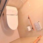 オアシスマンションプレジデント光ヶ丘 トイレには快適なウォシュレット付き