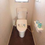 長寿園マンション 快適なウォシュレット付きトイレ