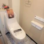 三篠公園パークホームズ 新設:ウォシュレット付きトイレ