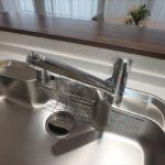 ヴェルパーク地御前 常時綺麗なお水を供給できる浄水器一体型水栓
