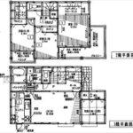 呉市焼山東1丁目新築 建物面積111.78㎡。4LDK+WICの間取りです。