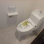 ヴェルパーク地御前 新設:ウォシュレット付きトイレ