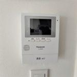 パラッシオ東雲 来客がひとめで分かるTVモニター付きインターホン