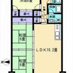 常磐CO-OPマンション 専有面積74.88㎡。3LDKの間取りです。(間取)