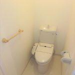 常磐CO-OPマンション ウォシュレット付きトイレ