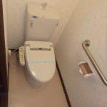 ロイヤルアーク光が丘 ウォシュレット付きのトイレです
