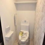 トーカンマンション山根町サウスウィング 新設:ウォシュレット付きトイレ