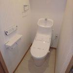 十日市ガーデンハイツ 新設:ウォシュレット付きトイレ