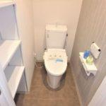 ダイアパレス二葉 新設:ウォシュレット付きトイレ