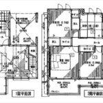 南区宇品東7丁目新築 建物面積105.16㎡。4LDKの間取りです。