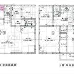 東区上温品3丁目新築 建物面積93.14㎡。3LDK+タタミコーナーの間取りです。(間取)
