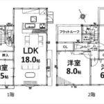 東区尾長東3丁目新築 建物面積103.51㎡。4LDKの間取りです。