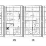 南区東雲1丁目新築 建物面積56.93㎡。2DK+ロフトの間取りです。