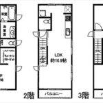 東区牛田本町5丁目新築 建物面積97.70㎡。2LDK+2納戸の間取りです。