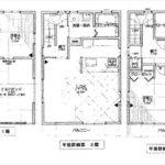 東区矢賀新町1丁目新築 建物面積126.69㎡。3LDK+納戸+2WICの間取りです。