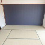 ダイアパレス二葉 畳や襖等を新調して綺麗に生まれ変わった和室6帖。