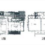 南区丹那町中古 建物面積104.33㎡。5DKの間取りです。