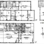 南区宇品御幸5丁目新築 建物面積123.28㎡。3LDK+小屋裏収納の間取りです。