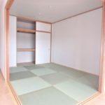 フローレンス東蟹屋グランドアーク 新設 和室6帖は落ち着きのあるスペース(内装)