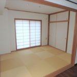 パークハイム牛田中 和室6帖は客間としても便利な落ち着きのある空間です☆