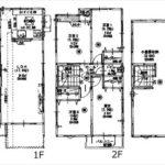 東区矢賀3丁目新築 建物面積90.95㎡。4LDK+小屋裏収納の間取りです。