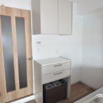 パラッシオ東雲 キッチンにカップボードが備え付けられています♪