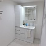 コープ野村西旭町 洗面室もリフォームで綺麗です♪