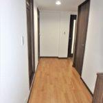 みゆきパークマンションB棟 ゆとりのある廊下