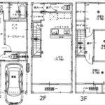 中区吉島新町2丁目新築 建物面積105.57㎡。3LDK+Sの間取りです。(間取)