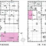 東区上温品3丁目新築 建物面積100.44㎡。4LDK+WICの間取りです。(間取)