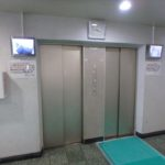 日商岩井光町ハイツ エレベーターホール
